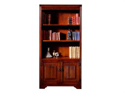 Bookcase With 2 Wooden Doors