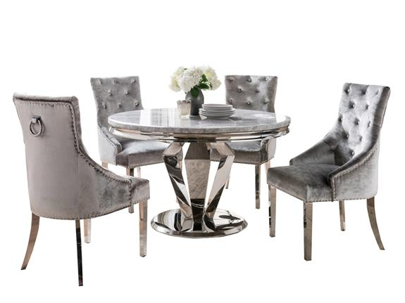 Dining Room Dining Sets Arturo 180cm Dining Table And 6 Chairs Buy At Christopher Pratts Leeds