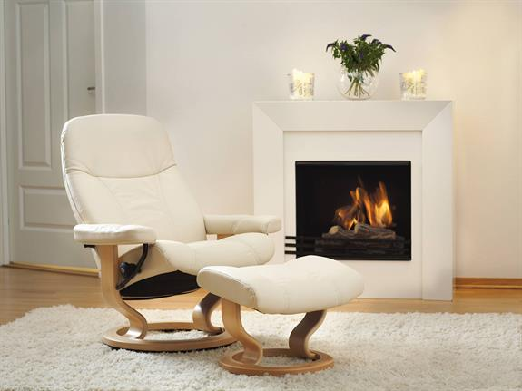 Ekornes stressless recliners chairs and sofas buy at for Consul high availability