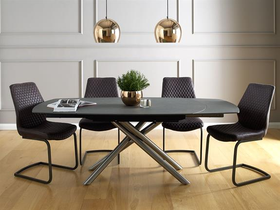 Dining Chairs Graff Quilted Dining Chair Buy At Christopher Pratts Leeds