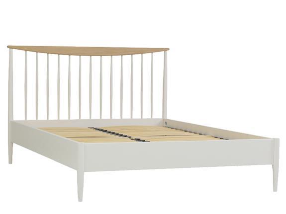 Elise Bedroom | King size slat bed | Buy at Christopher Pratts, Leeds