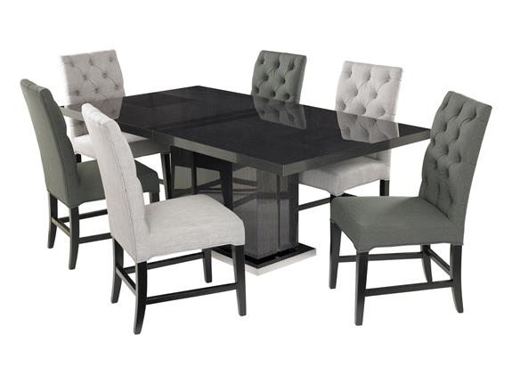 Monte Carlo Dining Table 6 Alfa Chairs Urban