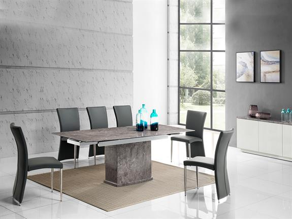 Ravello Collection Extending Marble Dining Table Buy At Christopher Pratts Leeds