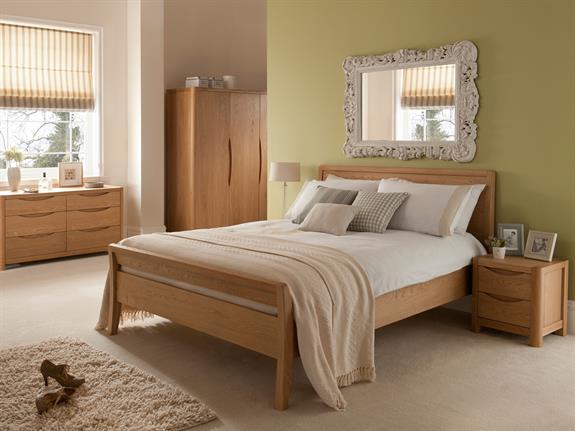 Bedroom Furniture Stockholm Bedroom 135cm Bedframe Buy At Christopher Pratts Leeds