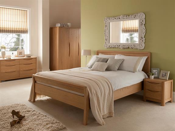 Bedroom furniture stockholm bedroom 6 drawer dressing for Bedroom furniture leeds