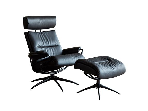 Stressless By Ekornes Tokyo Chair With Footstool Buy At Christopher Pratts Leeds