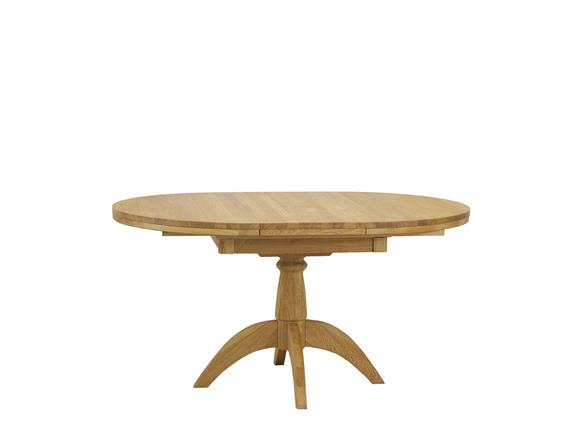Single Pedestal Extending Round Dining, Round Pedestal Extending Dining Table