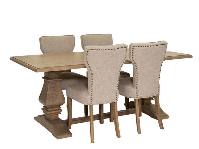 Maida Vale Table 4 Cardea Chairs