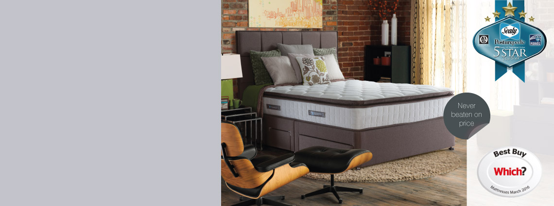 Sealy Beds And Mattresses Buy At Christopher Pratts Leeds