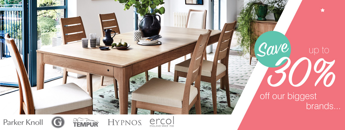 Brands in dining tables and chairs