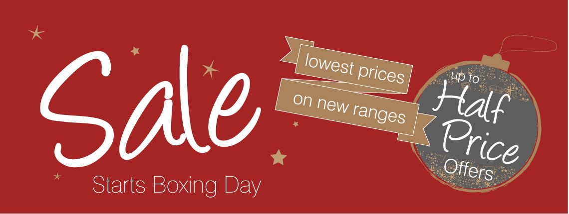 Sale Starts Boxing Day