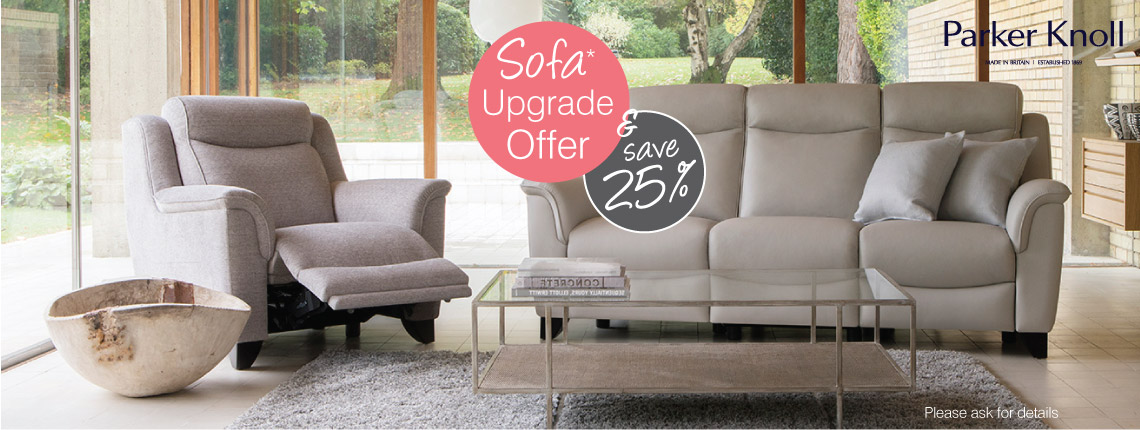 Sofa Upgrade Offer