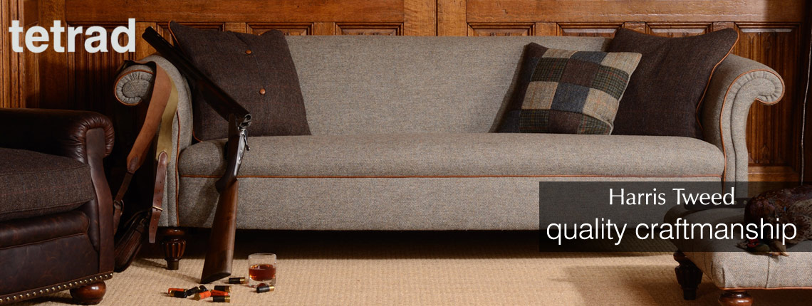 Tetrad Harris Tweed sofa range